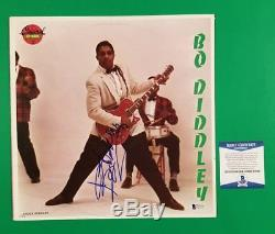 Bo Diddley Signed Self Titled Lp Album Certified Authentic With Beckett Bas Coa