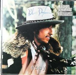 Bob Dylan Signed LP Record Autographed Album and COA DESIRE