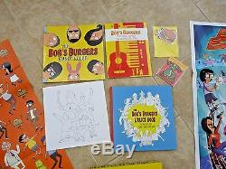 Bob's Burgers Music Colored Vinyl Box Set With Autographed Poster Signed x1