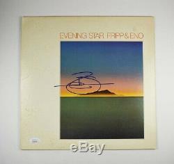 Brian Eno Autographed Signed Album LP Record Certified Authentic JSA COA AFTL