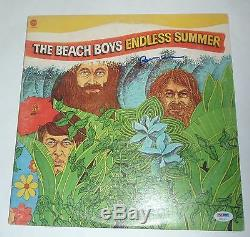 Brian Wilson Signed Beach Boys Endless Summer Album LP With PSA/DNA