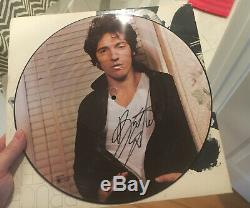 Bruce Springsteen Signed Picture disc Album Passed Psa Dna Quick Opinion