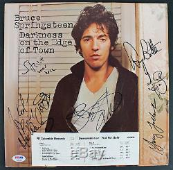 Bruce Springsteen & The E Street Band Signed Album Cover With Vinyl PSA #AB04444
