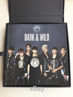 Bts Signed Album Dark & Wild  From South Korea  Shipping From Us