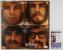 CCR Creedence Clearwater Revival Bayou Signed Autograph JSA Album Vinyl Record