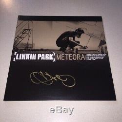 CHESTER BENNINGTON signed autographed METEORA ALBUM LINKIN PARK BECKETT BAS COA