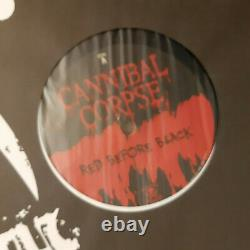 Cannibal Corpse Red Before Black 12 LP / komplett signiert fully autographed