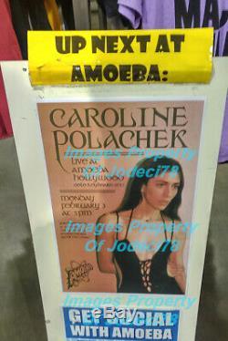 Caroline Polachek Signed PANG Album on Gold Swirl Vinyl PROOF JSA Chairlift