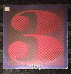 Cass Elliot Rare Signed Early Folk Album The Big 3 The Mama & The Papas