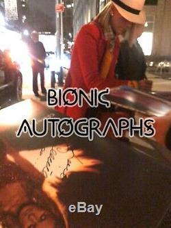Celine Dion Courage LP Album Signed With Proof Autograph