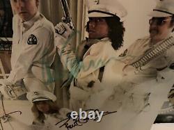 Cheap Trick Dream Police Autographed Album LP Cover Vinyl COA Guarantee 100%