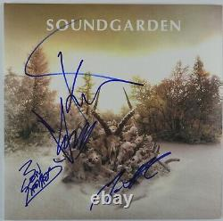Chris Cornell Soundgarden Beckett Signed Autograph King Animal Album Record
