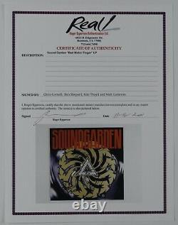 Chris Cornell Soundgarden JSA Epperson Signed Autograph Badmotorfinger Album