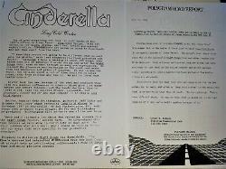 Cinderella Long Cold Winter Signed Autographed Vinyl Album Tom Keifer Press Kit