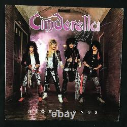 Cinderella Night Songs Signed Autograph Record Album JSA Vinyl Tom Keifer