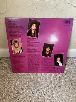 Cinderella Night Songs Signed Autographed Record Album JSA Vinyl Tom Keifer