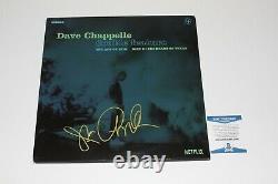 Comedian Dave Chappelle Signed Netflix Vinyl Record Album Lp Beckett Coa Bas