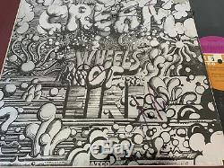 Cream Hand Signed Autographed All 3 Eric Clapton Baker Bruce Record Album LP COA
