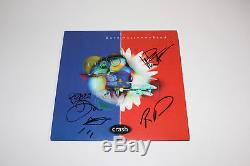 DAVE MATTHEWS BAND SIGNED AUTHENTIC'CRASH' VINYL RECORD ALBUM LP withCOA X3