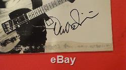 DAVID SANCIOUS SIGNED AUTOGRAPHED BRUCE SPRINGSTEEN BORN TO RUN RECORD ALBUM
