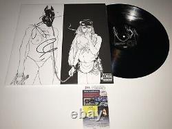 DEATH GRIPS HAND SIGNED VINYL ALBUM RECORD With JSA COA LP ZACH, ANDY & MC RIDE