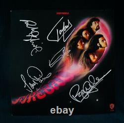 DEEP PURPLEAutographed FIREBALL Album By All 5 Including Ritchie BlackmoreCOA