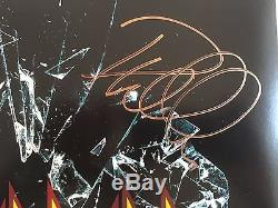 DEF LEPPARD signed 2015 DEF LEPPARD Album LP signed by All 5 band Members