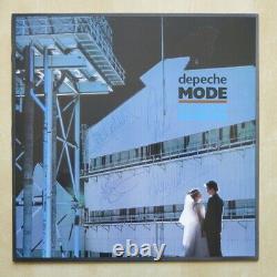 DEPECHE MODE Some Great Reward UK vinyl LP with lyric inner sleeve Fully Signed