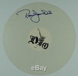DIO Ronnie James Dio JSA Signed Autograph Record Album Vinyl Colored Vinyl