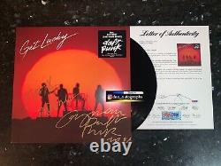 Daft Punk Signed Album Daft Punk Get Lucky Lp Signed Psa Coa Rare