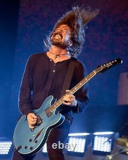 Dave Grohl Autographed Foo Fighters Debut Album JSA COA Framed & Photo & Lyrics