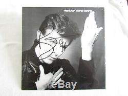 David Bowie Heroes Album (Record) Autographed Signed