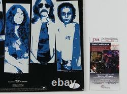 Deep Purple JSA Signed Autograph Album Record LP Roger Glover Ian Gillian +