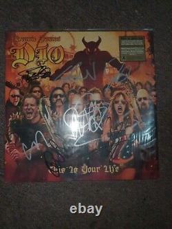 Dio Tribute Album Autographed Vinyl