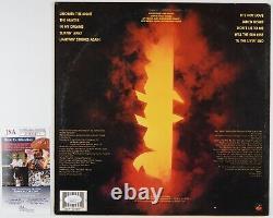 Dokken Signed Autograph JSA Record Album Vinyl Under Lock And Key