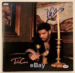Drake Autographed Vinyl Record Album signed Aubrey Graham PSA COA