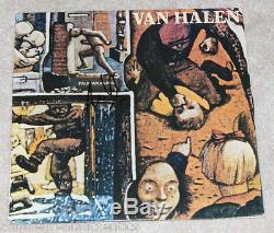 EDDIE VAN HALEN SIGNED AUTHENTIC'FAIR WARNING' RECORD ALBUM LP withCOA PROOF