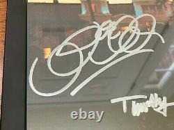 Eagles Hand-signed Framed'hotel California' Album Lp Frey Henley Walsh Schmit