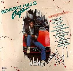 Eddie Murphy Autographed Beverly Hills Cop Soundtrack Bas Coa Record Album