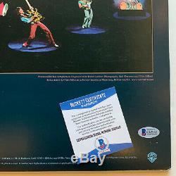 Eddie Van Halen Autographed V Halen II vinyl record album signed Beckett BAS coa