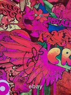 Eric Clapton Cream Disraeli Gears Autographed Signed Lp Record Album Rare