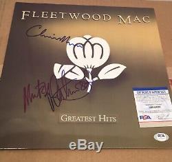 FLEETWOOD MAC Autographed Signed Vinyl Record Album PSA/DNA Christine & Mick