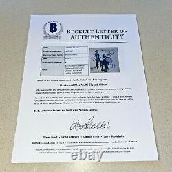 FLEETWOOD MAC BAND +4 signed autographed ALBUM RUMORS BECKETT BAS LOA AA02162