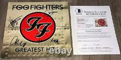 FOO FIGHTERS SIGNED GREATEST HITS ALBUM DAVE GROHL +4 withEXACT PROOF BECKETT BAS