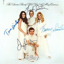FRANK SINATRA SIGNED ALBUM FULL FAMILY SIGNED RARE ONE OF A KIND COA INCLUDED
