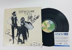 Fleetwood Mac Autographed x2 Signed Record Album LP ACOA