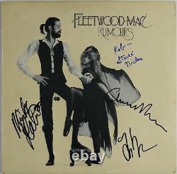 Fleetwood Mac JSA REAL Epperson Signed Autograph Album Rumors Stevie Nicks +