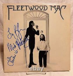 Fleetwood Mac group Signed Autographed Album B