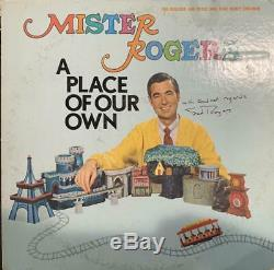 Fred Rogers autographed signed 12 Lp record Album Mister Rogers with COA