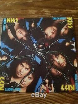 GENE SIMMONS & PAUL STANLEY + 1 KISS signed autographed vinyl record album